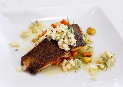 Fennel Crusted Salmon